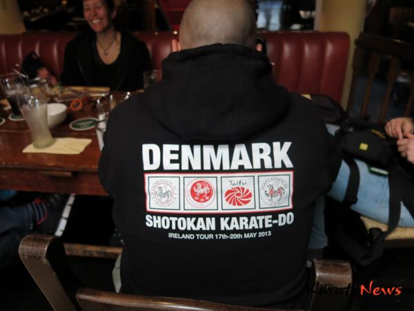 """Danske karate ka-er på """"Ireland Tour 2013"""""""