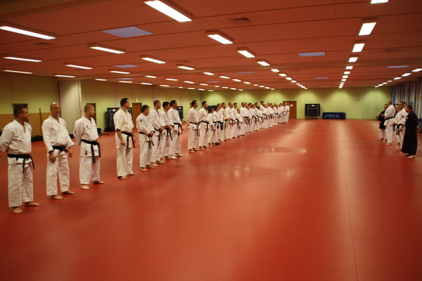 Traditionelt Event ved DM i Karate