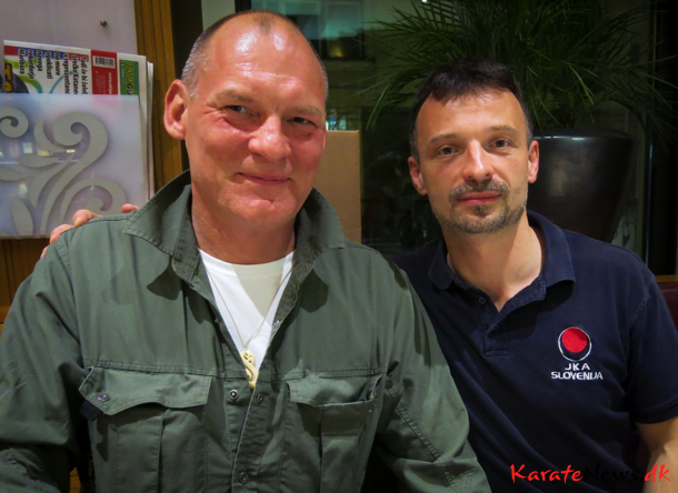 Frank Starck-Sabroe sensei og Branko Gabrovec sensei
