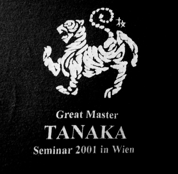 Logo from Gasshuku in Wien - stil active on t-shirts - designed by Frank Starck-Sabroe sensei