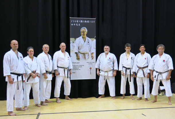 Members from Shotosha Denmark with friends from JKA Hungary