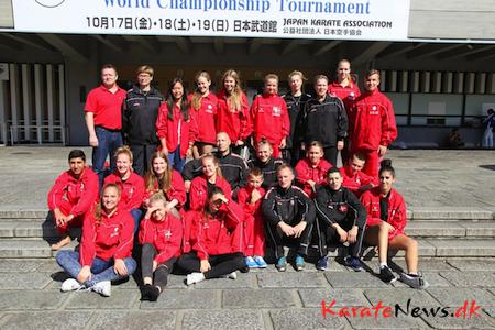 JKA VM i Tokyo den 17-19. oktober 2014