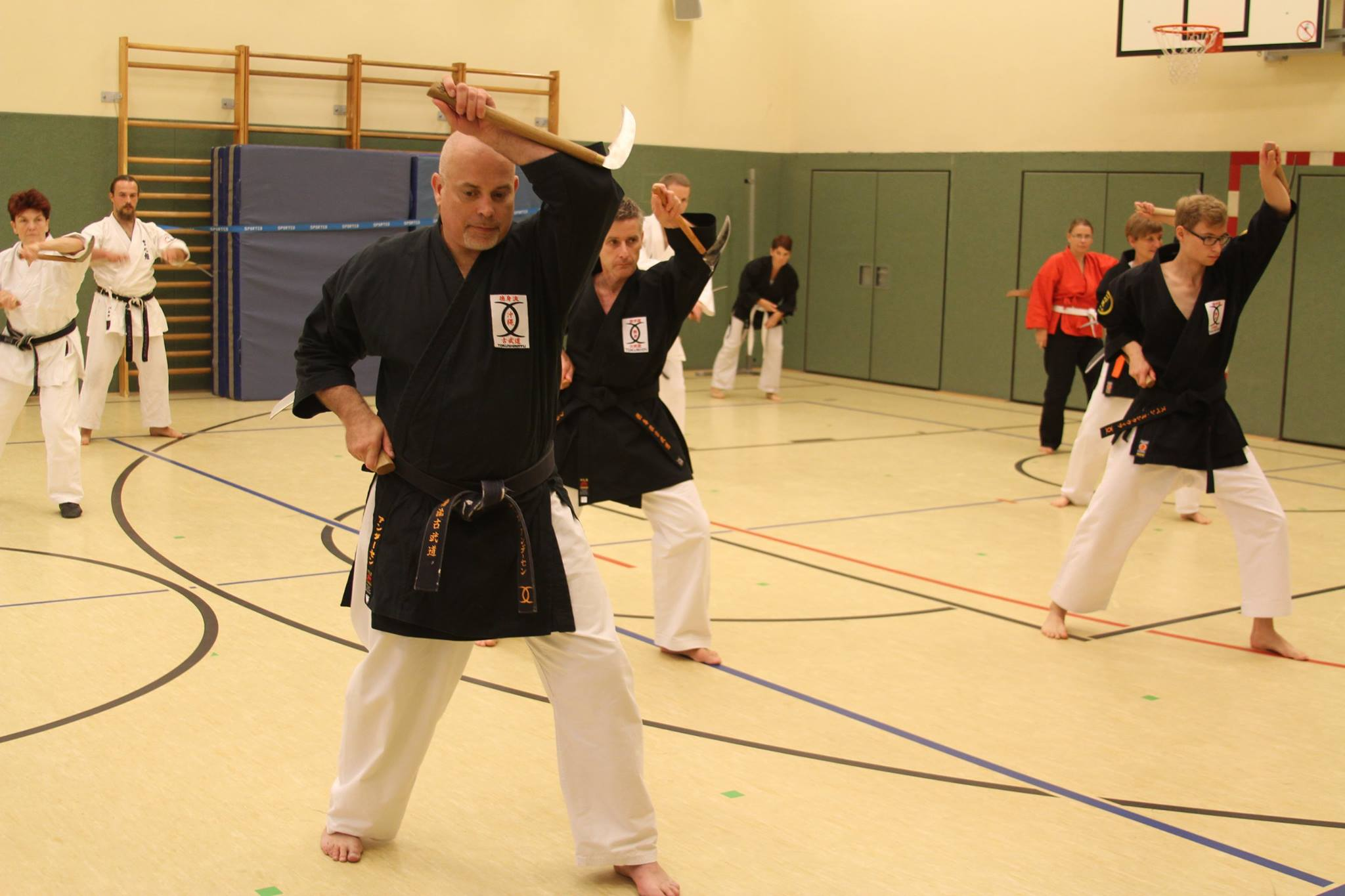 Danish Kobudo Instructors in Berlin