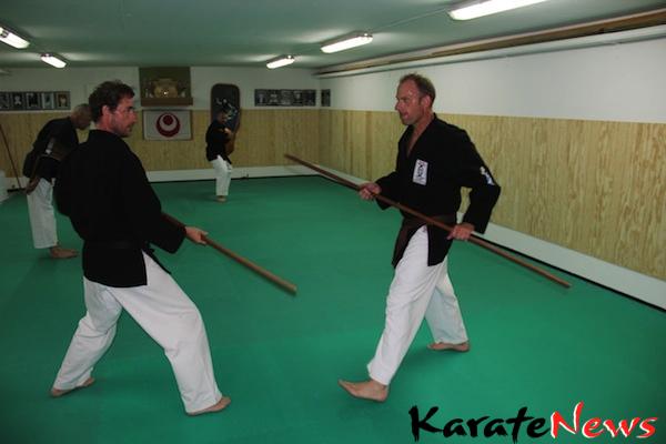 Instruktørtræning i Tokushinryu Kobudo