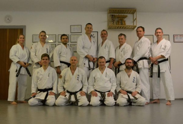 Nytårstræning i Shingoryu Karate