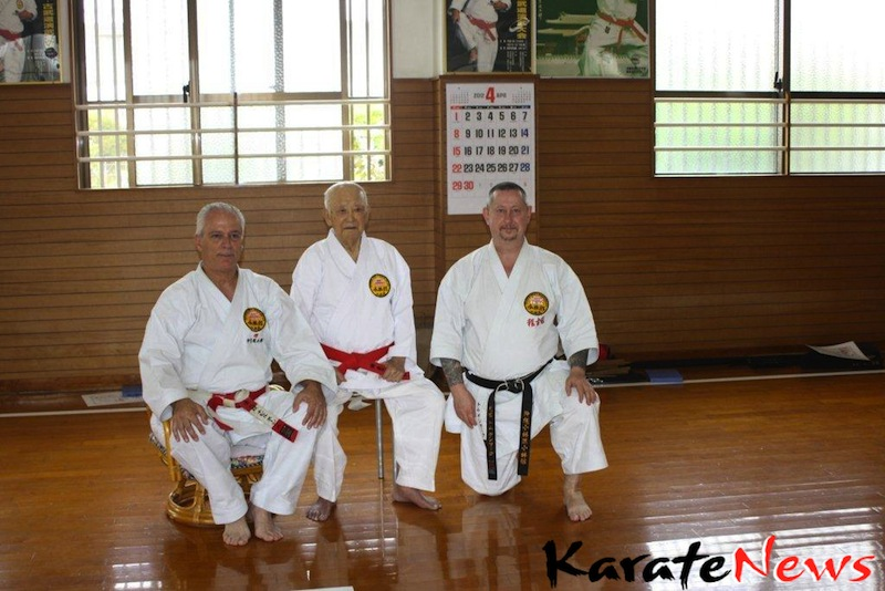 Shorinkan training camp in Okinawa  29 March – 11 APRIL