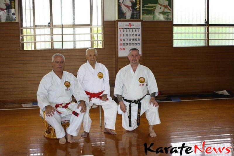 Shorinkan training camp in Okinawa  29 March – 11 APRIL