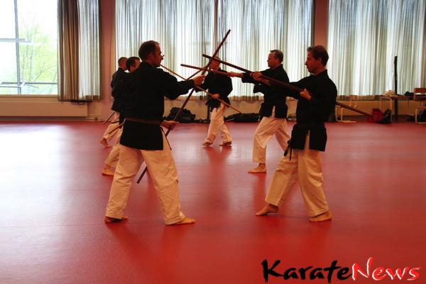 Åbent Kobudo seminar i Amagerhallen d. 13. maj 2012