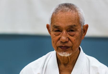 Seminar med Shihan Masahiko Tanaka 8. dan JKA