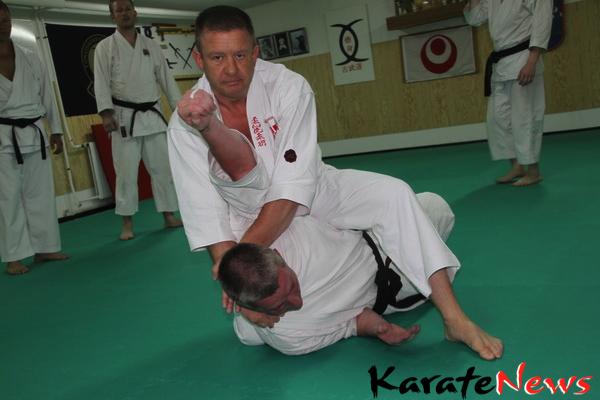 Jushinryu Ju Jutsu support til Karate bunkai