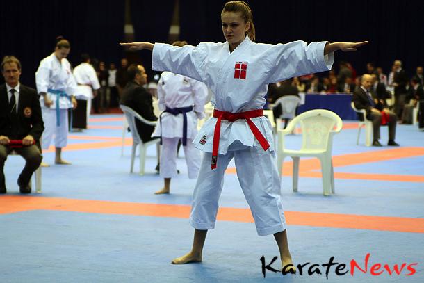 WKF EM  U/21 i Tyrkiet – 8. feb 2013. Tre 5. pladser til DK