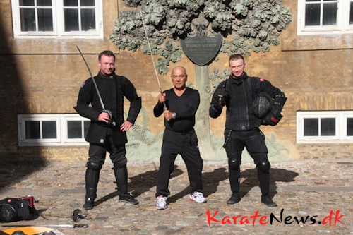 Da Kobudo mødte europæisk fægtekunst
