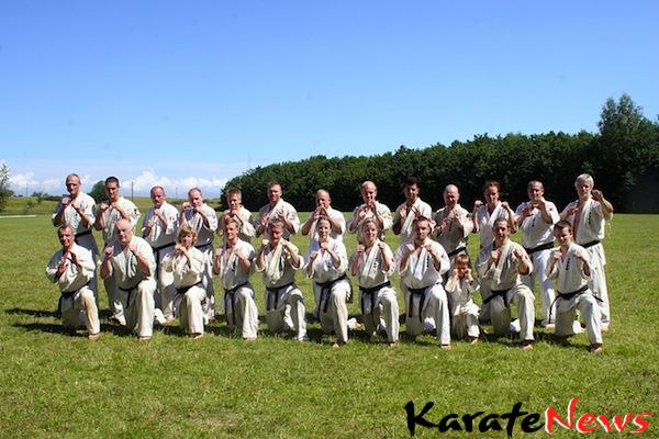 Dansk Ashihara Karates Sabaki Camp 2012. fra d. 5 – 8 Juli