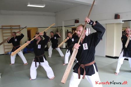 Tokushinryu Kobudo Gasshuku Denmark 2014.