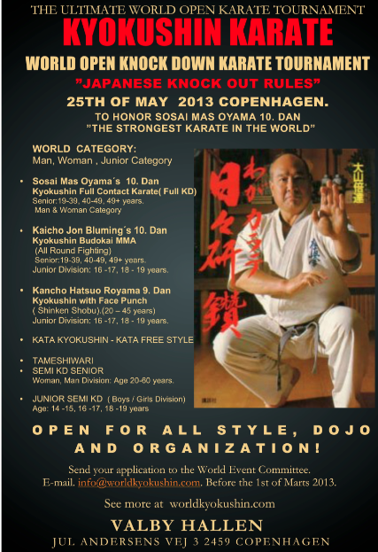 The Ultimate World Open Karate Tournament