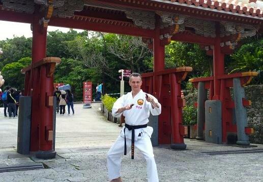 Træning og graduering på Okinawa 2014