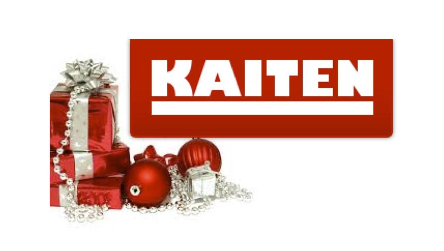 KAITEN julekonkurrence – Vindere udtrukket