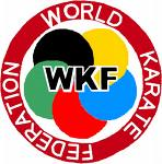 Karate federation world logo