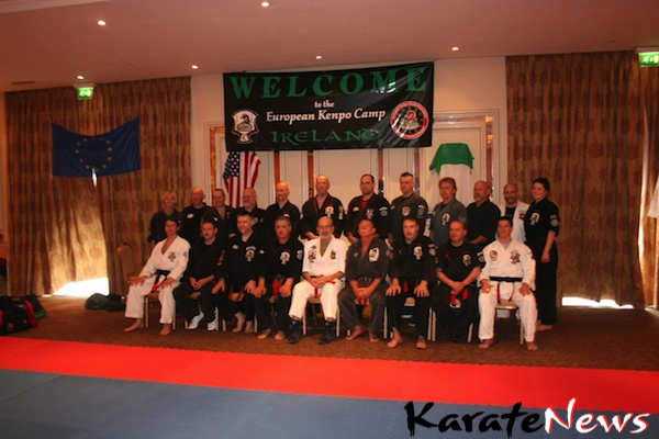 European Kenpo Karate Camp in Ireland