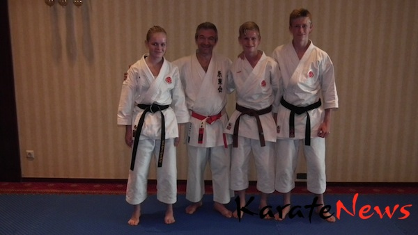 2. dag til WKF karate1 træning på Korfu, Grækenland