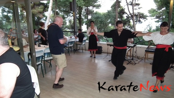 WKF Karate1, Korfu – Græsk kulturaften