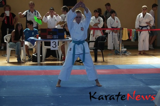 WKF Karate1 – Youth Cup 2012, Korfu – 1. turneringsdag