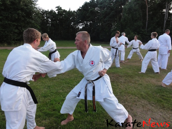 Kyusho seminar på Solrød Karate Klubs klublejr