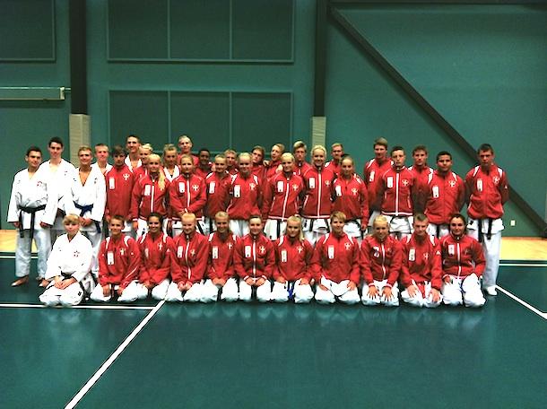 Landsholdstræning i Dansk Karate Forbund