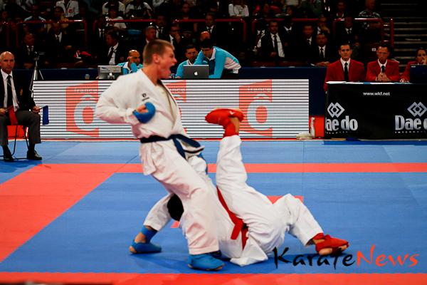 Kumite i dag – Casper Lidegaard 1 sek. fra at slå verdensmesteren