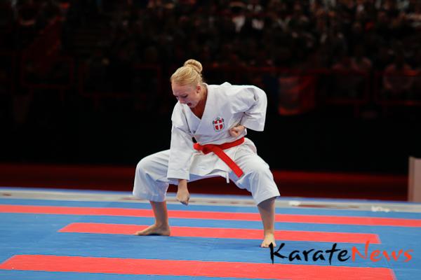 Cecilie Bjerring tabte bronze kamp til Sakura Kokumai
