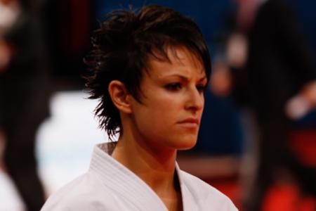 Sandy Scordo fra Frankrig er i finalen i kvinde kata
