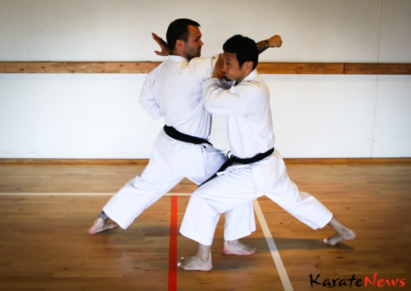 Teknikserie, Yamaguchi sensei, 7. dan JKS Shotokan