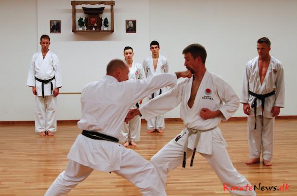 Åben Shotosha træning med Frank Starck-Sabroe sensei 7. dan