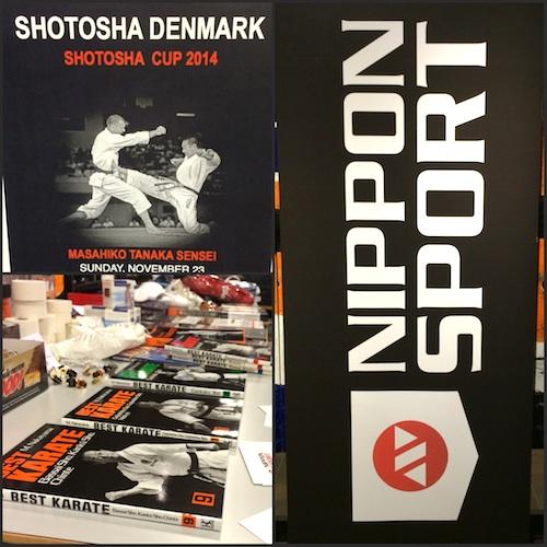 Nippon Sport var hovedsponsor til Shotosha Cup
