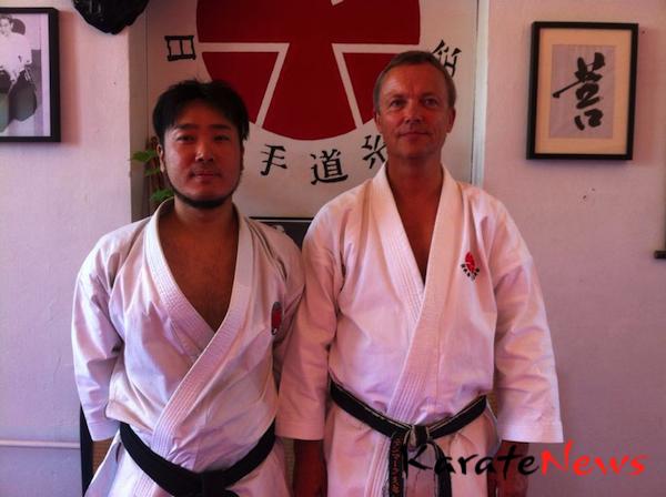 Itosu-Kai Karate-Do Danmark havde japansk instruktør på besøg i pinsen.