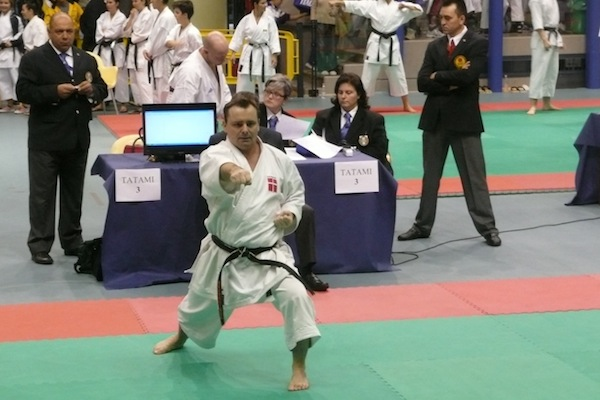 Karate Association Denmark til  8th World Karate Championships(WUKF) for Clubs i Lignano, Italien