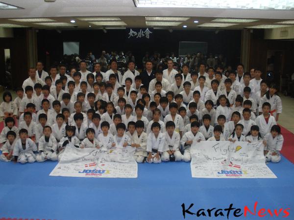 Billeder fra et træningsophold i Japan