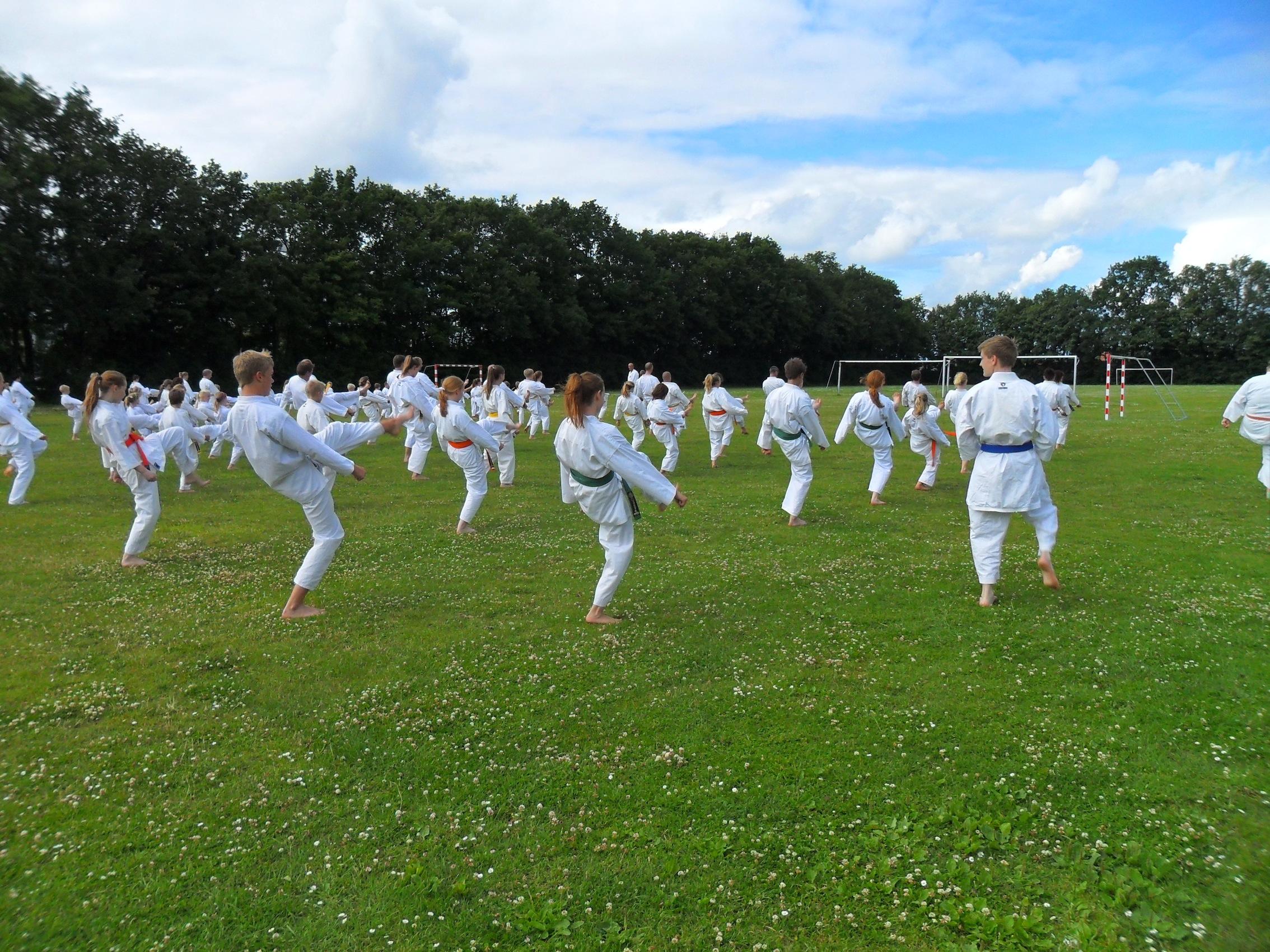 Sommerlejr 2011- Egedal Karate Klub