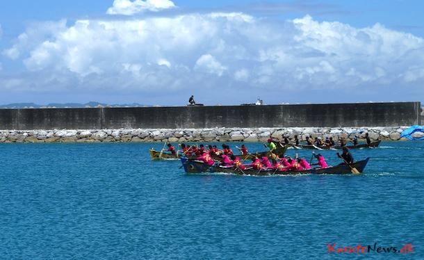 Dragon boat race på Tsuken Island
