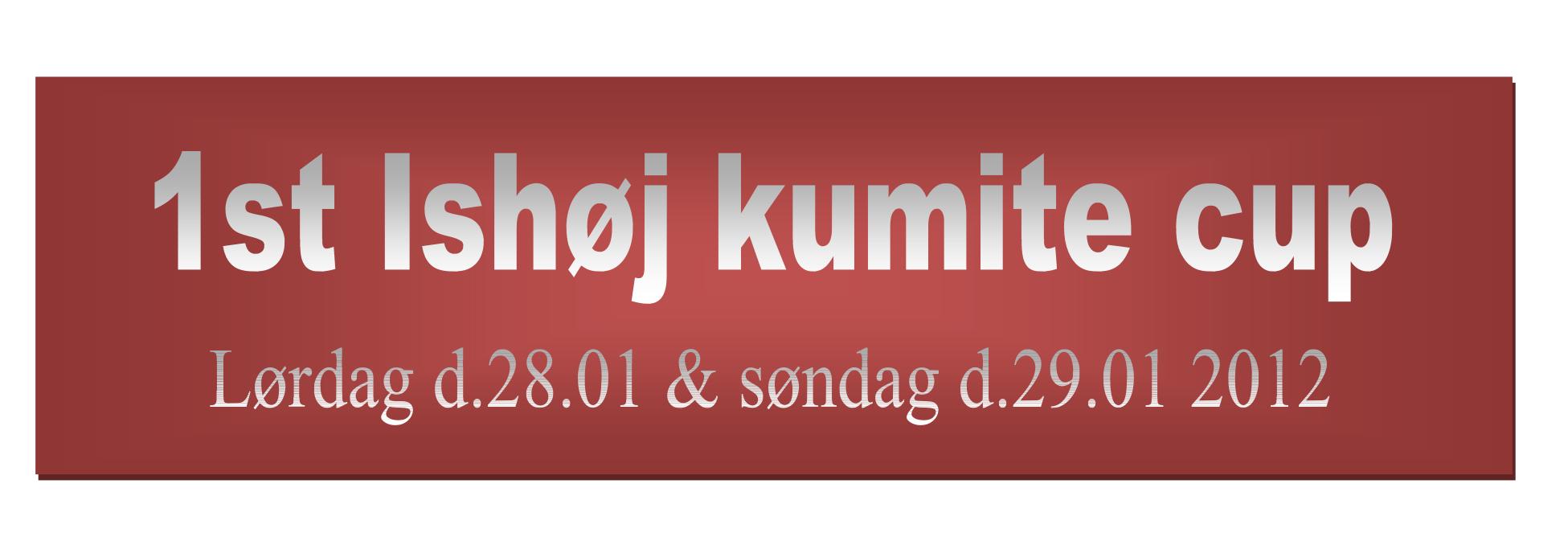 Ishøj kumite cup.  28. – 29. Januar 2012