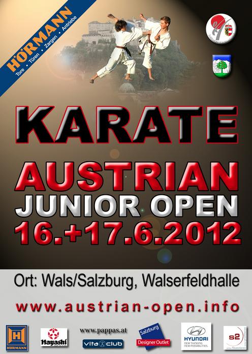 Austrian Open 16. juni 2012 i Salzburg