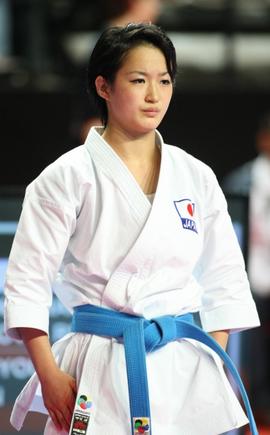 KIYOU SHIMIZU fra Japan - I finalen i kvinde kata