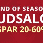 Spar 20-60% i NIPPON SPORT