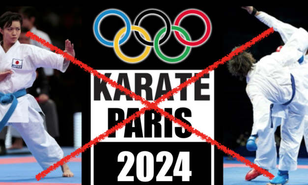 Karate udgår som OL sport i 2024