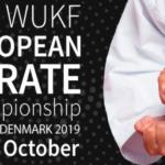 PRAKTIKANT TIL WUKF EM2019 i Karate i Odense!