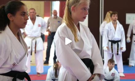 Optakt EM Karate WUKF 2019 i Odense