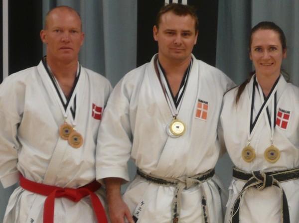 Garvede kræfter bag ny Shotokan-klub i Greve