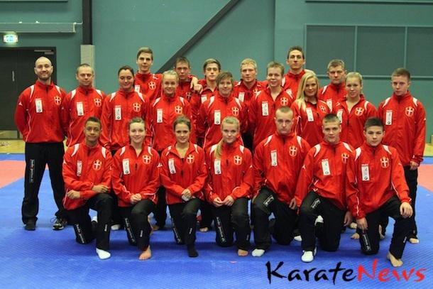 Nyt tøj fra Budoxperten til Dansk Karate Forbunds landshold