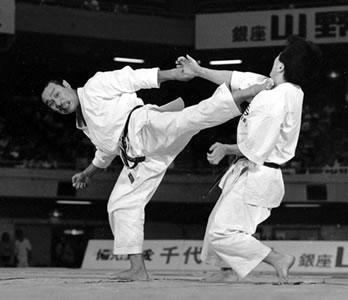 Masahiko Tanaka sensei 8. dan JKA kommer til Danmark
