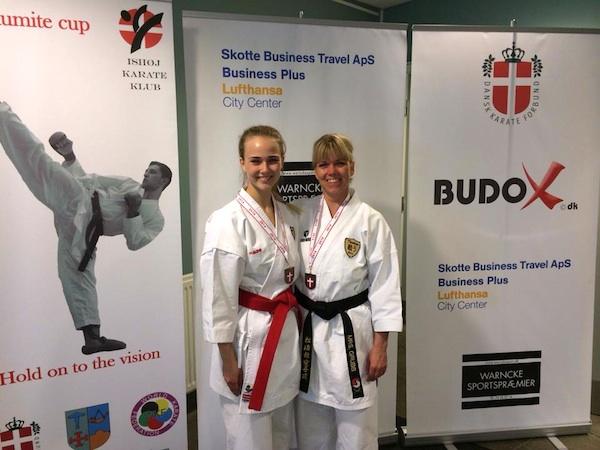 Tillykke til Tatakau Sølv til Susanne Grubb bronze til Cecilie Grubb